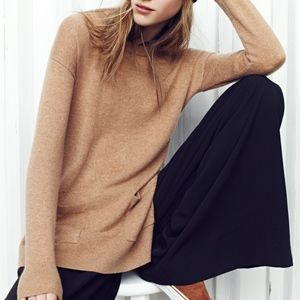 Madewell Cashmere Side Slit Sweater